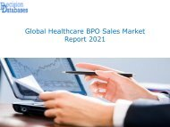 Global Healthcare BPO Sales Market Forecasts to 2021