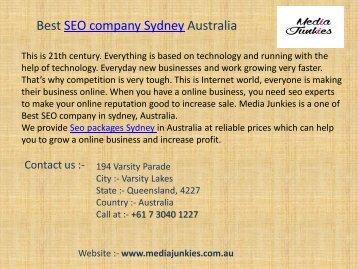 Best Seo Company Sydney