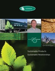 Sustainable Products Sustainable Relationships - Upper Canada ...