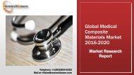 Global Medical Composite Materials Market 2016-2020