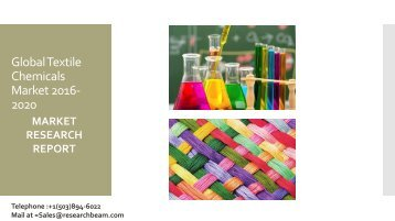 Global Textile Chemicals Market 2016-2020