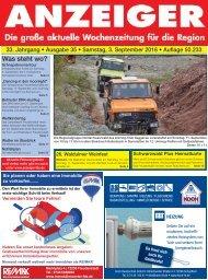 Anzeiger Ausgabe 35/16