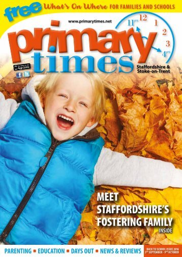 Primary Times Staffordshire Back 2 School 2016