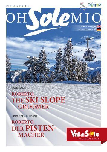 VAL DI SOLE -TRENTINO | Oh sole mio - Wintermagazine | Das Wintermagazin