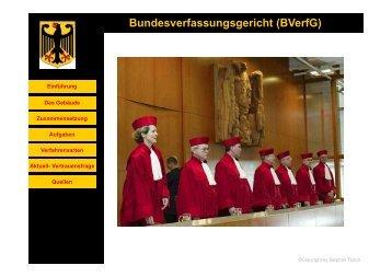 Bundesverfassungsgericht (BVerfG) - Stephan Tesch