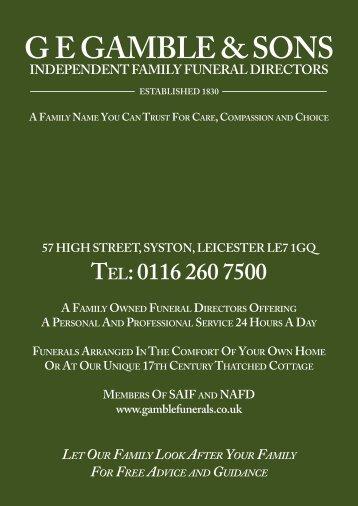 Gamble & Sons brochure (interactive)