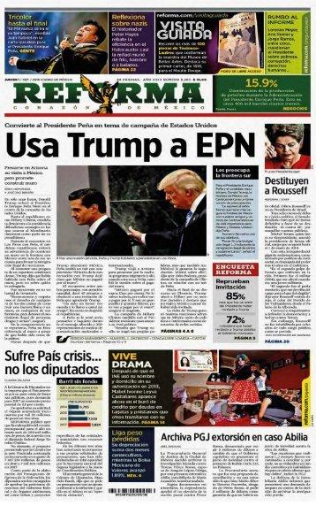 Usa Trump a EPN