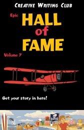 Creative Writing Club - Hall of Fame (volume 7)