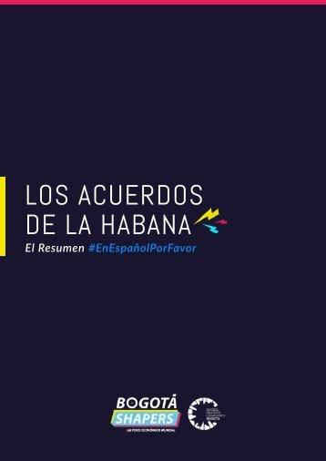 LOS ACUERDOS DE LA HABANA