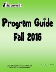 Fall 2016 Program Guide Sept 1