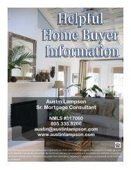 Helpful Home Buyer Information Booklet