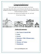 Helpful Home Buyer Information Booklet - Page 3