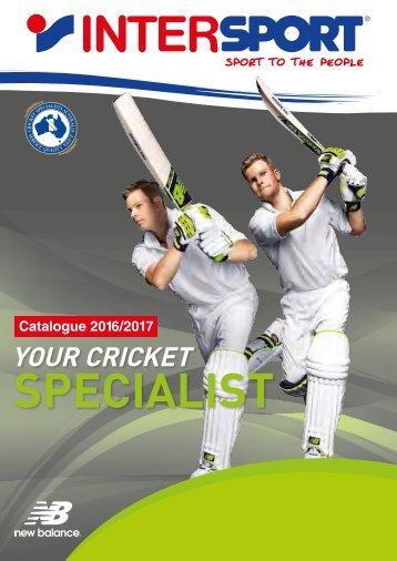 Intersport Cricket Catalogue