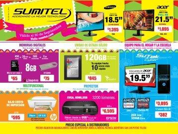 Catálogo de Tecnología SUMITEL 30SEP´16