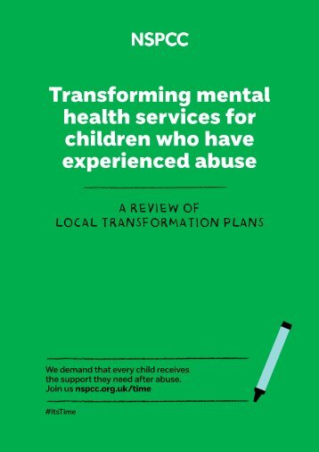 Transforming mental health services for children who have experienced abuse