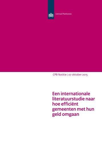 cpb-notitie-een-internationale-literatuurstudie-naar-hoe-efficient-gemeenten-met-hun-geld-omgaan