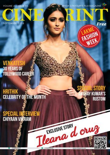 Cinesprint Magazine September 2016