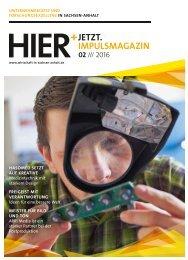 HIER+JETZT. Impulsmagazin // Ausgabe 02/2016