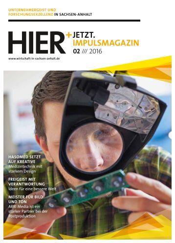 HIER+JETZT. Implusmagazin // Ausgabe 02/2016