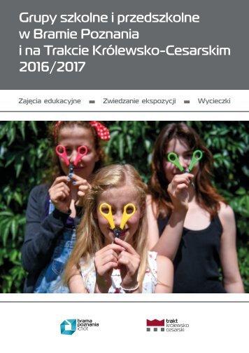 Grupy szkolne i przedszkolne 2016/2017