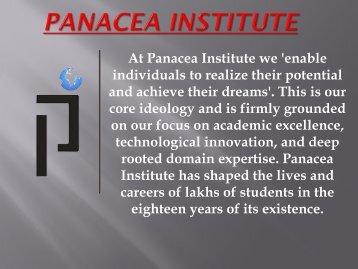 Get Online Test Series For Sbi Clerk by Panacea Institute