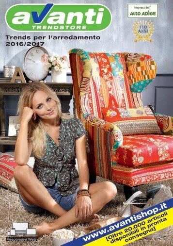 Avanti Trendstore catalogo trends per l'arredamento 2016/2017