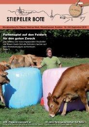 Stiepeler Bote 243 - September 2016