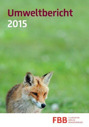 Umweltbericht 2015