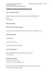 Zeitschriftenübersicht April 2010 - Forschungsstelle für ...