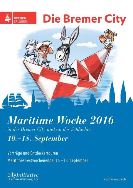 Programmheft Maritime Woche 2016