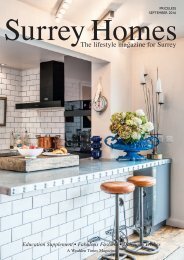 Surrey Homes   SH23   September 2016   Education supplement inside