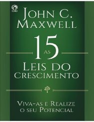 As 15 leis do crescimento