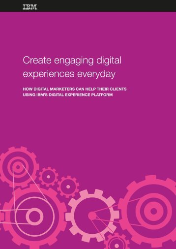 Create engaging digital experiences everyday
