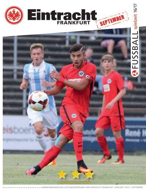Eintracht Frankfurt Spielzeit 16/17 September 2016