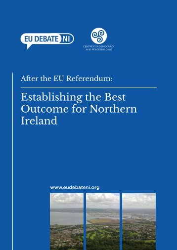 Establishing the Best Outcome for Northern Ireland