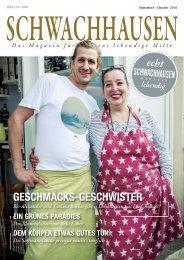 SCHWACHHAUSEN Magazin | September-Oktober 2016