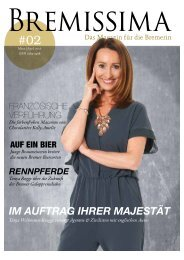BREMISSIMA Magazin | März - April 2016
