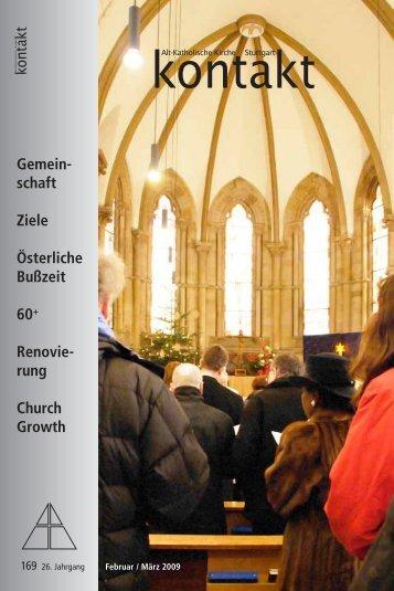 kontakt Nr. 169 - Alt-Katholische Gemeinde Stuttgart