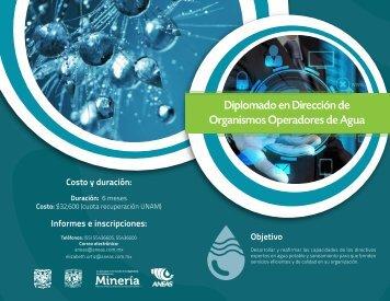 Diplomado en Dirección de Organismos Operadores de Agua