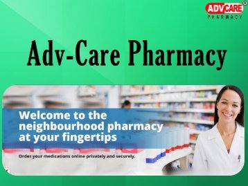 Choose Licensed Canadian Mail Order Pharmacy