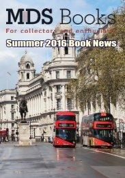 Summer 2016 Book News