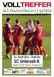 1. Ausgabe Stadionzeitung 2016/17