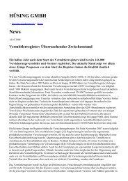 HÜSING GMBH News - huesing-assekuranz.de