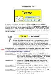Terme - städtisches Gymnasium Herten