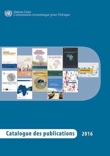 Catalogue des publications
