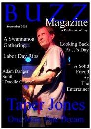 BUZZ Magazine September 2016