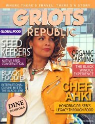 GRIOTS REPUBLIC - AN URBAN BLACK TRAVEL MAG - SEPTEMBER 2016