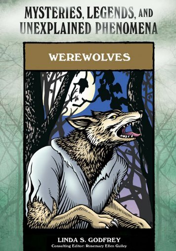 Mysteries, Legends, and Unexplained: Werewolves