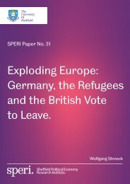 Exploding Europe Germany the Refugees and the British Vote to Leave