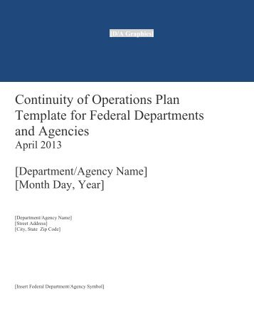 COOP) Plan Template Instructions - Default Page for New Sites
